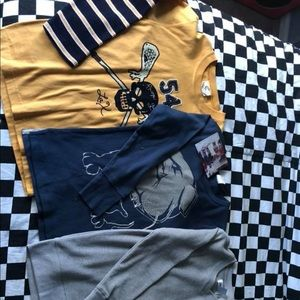 Other - Boys 6/7 long sleeve shirts